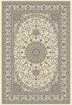 Ancient Garden 57119-6464 Ivory/Ivory (64 Pearl) Area Rug by Dynamic Rugs