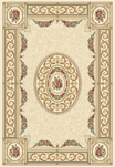 Ancient Garden 57226-6464 Ivory/Ivory (64 Pearl) Area Rug by Dynamic Rugs