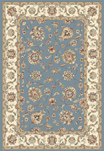 Ancient Garden 57365-5464 Lt.Blue/Ivory (54 Lt.Blue) Area Rug by Dynamic Rugs