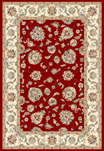 DaVinci Isfahan 14 Red Area Rug