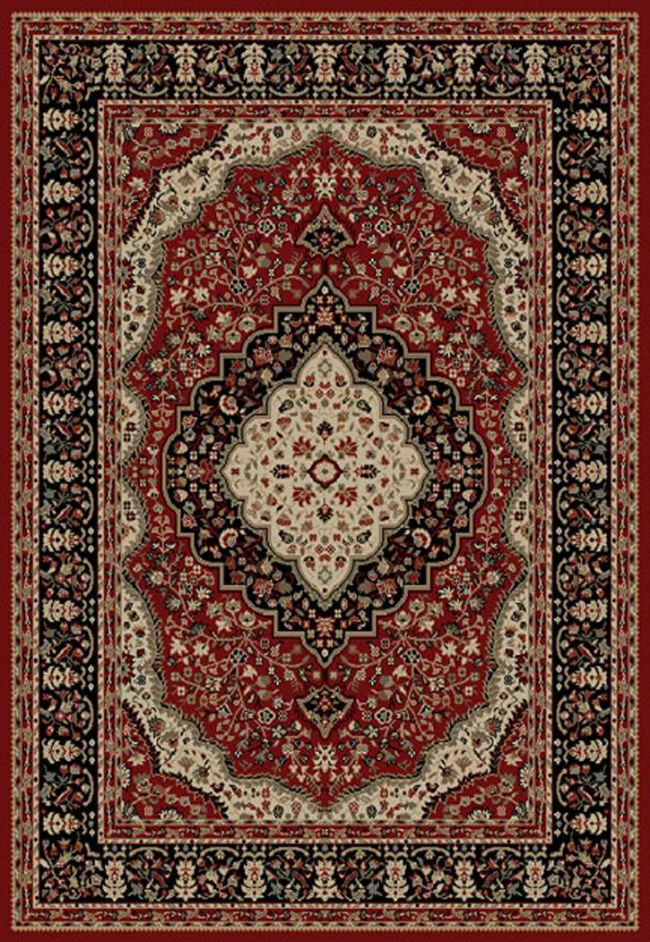 Ankara  6140 Red Area Rug by Concord Global Trading