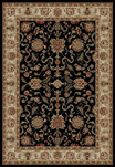 Ankara  6513 Black Area Rug by Concord Global Trading