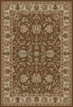 Ankara  6518 Brown Area Rug by Concord Global Trading