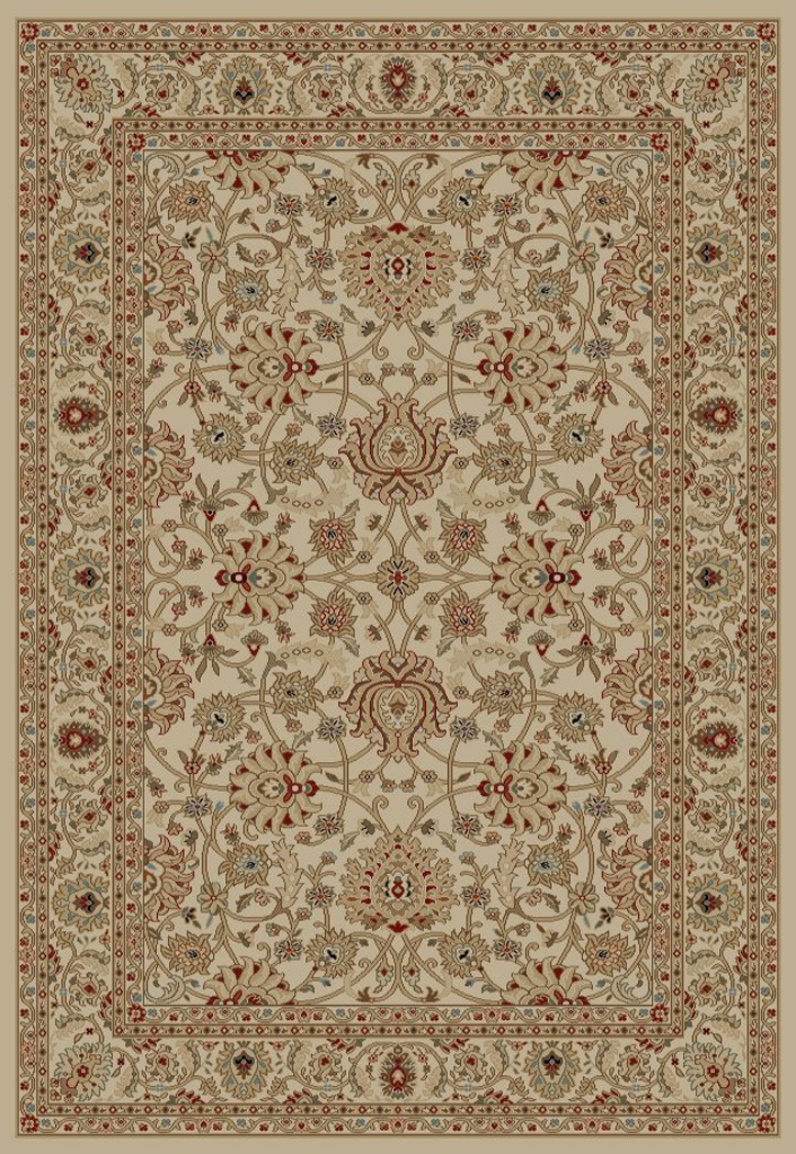 Ankara  6552 Ivory Area Rug by Concord Global Trading