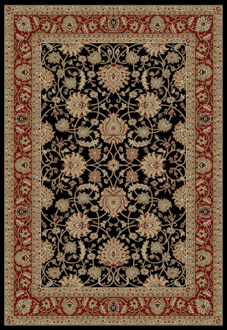 Ankara  6553 Black Area Rug by Concord Global Trading