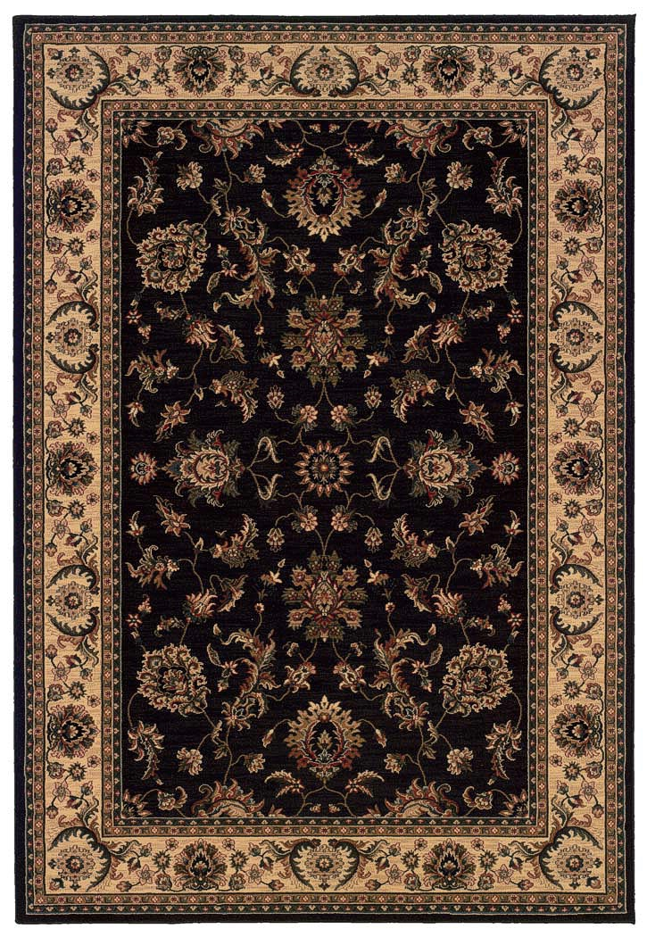 Oriental Weavers Ariana 311k Black Traditional Area Rug