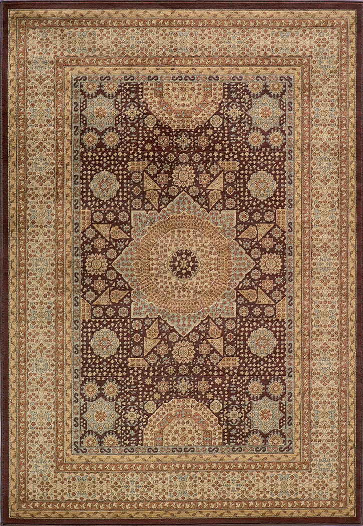 Belmont BE-03 Brown Momeni Area Rug
