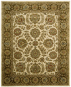 Jaipur JA31 Ivory/Brown Area Rug by Nourison