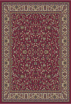 Jewel  4060 Kashan Red Area Rug by Concord Global Trading
