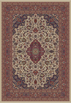 Jewel  4102 Heriz Ivory Area Rug by Concord Global Trading