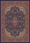 Jewel  4104 Heriz Navy Area Rug by Concord Global Trading