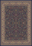 Jewel  4114 Sarouk Navy Area Rug by Concord Global Trading