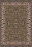 Jewel  4115 Sarouk Green Area Rug by Concord Global Trading