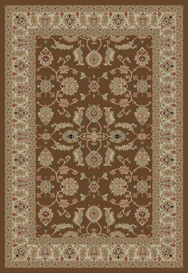 Jewel  4448 Antep Brown Area Rug by Concord Global Trading