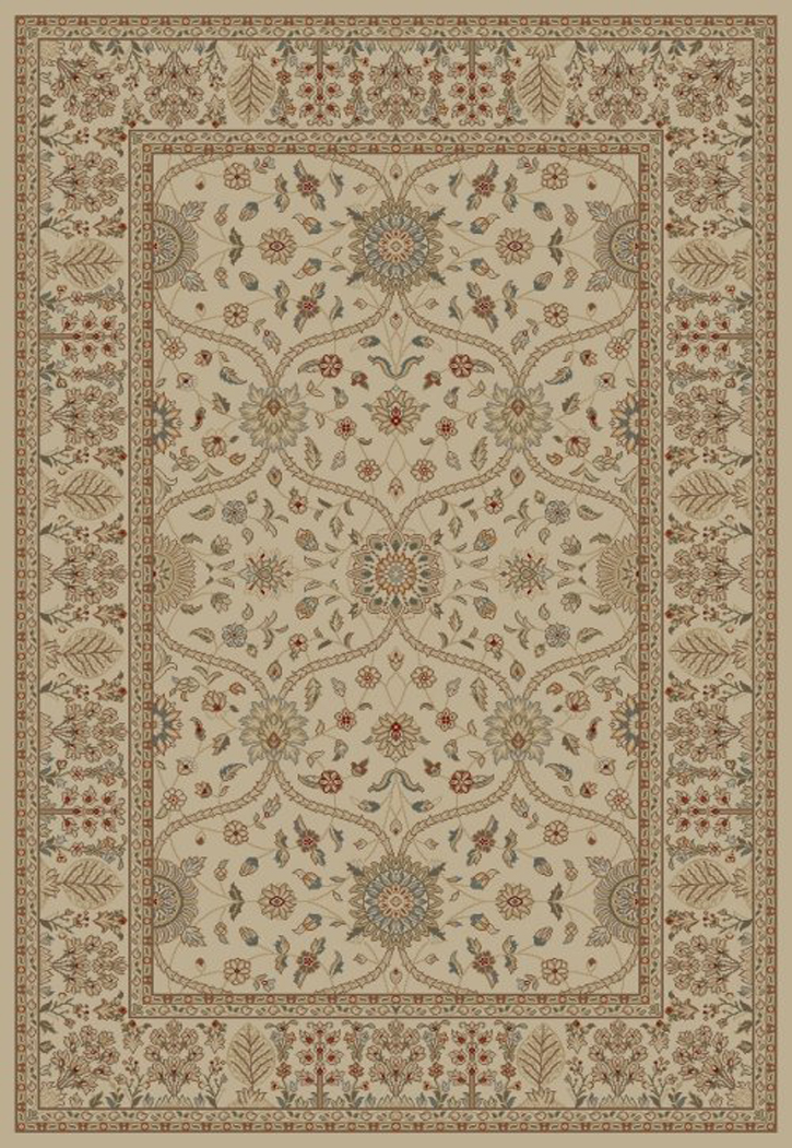 Jewel  4901 Voysey Ivory Area Rug by Concord Global Trading