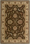Living Treasures  LI04 Brown Area Rug by Nourison
