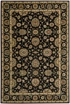 Living Treasures  LI05 Black Area Rug by Nourison
