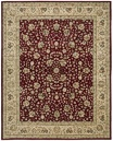 Nourison 2000 2107 Burgundy Area Rug by Nourison