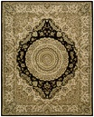 Nourison 2000 2233 Black Area Rug by Nourison
