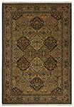 Original Empress Kirman Black 700/724 Karastan Area rug