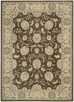 Persian Empire PE22 Chocolate Area Rug by Nourison