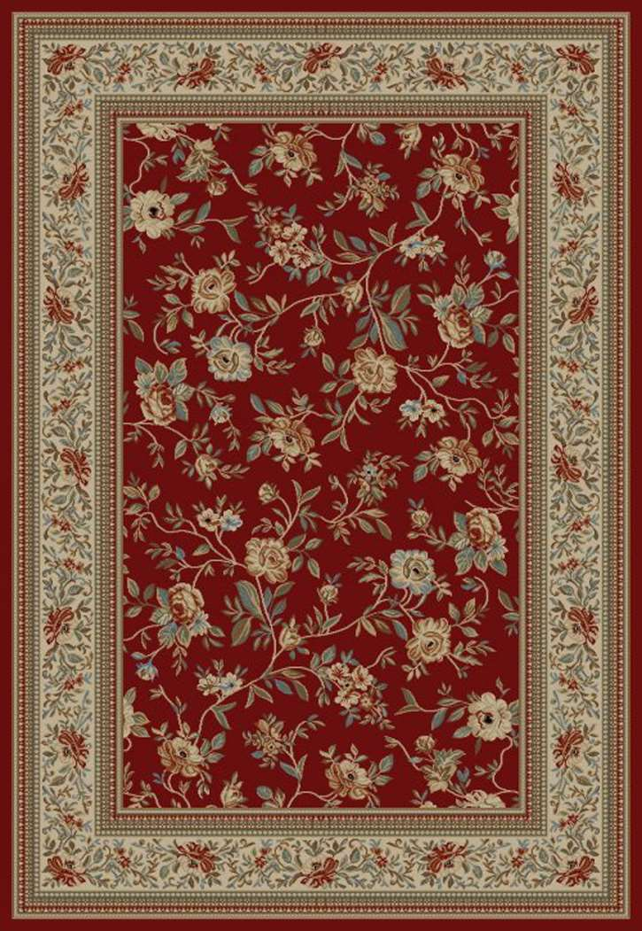 Ankara Classic 6220 Red Area Rug by Concord Global Trading