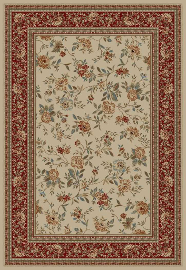 Ankara Classic 6222 Ivory Area Rug by Concord Global Trading