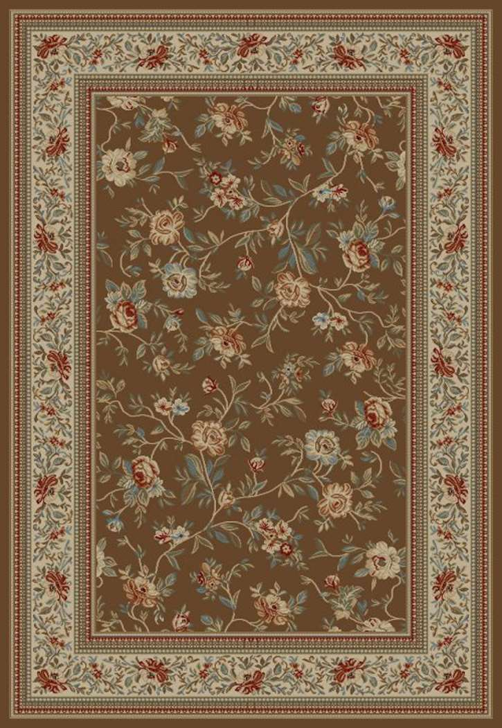 Ankara Classic 6228 Brown Area Rug by Concord Global Trading