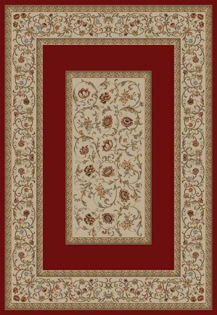 Ankara Classic 6230 Red Area Rug by Concord Global Trading