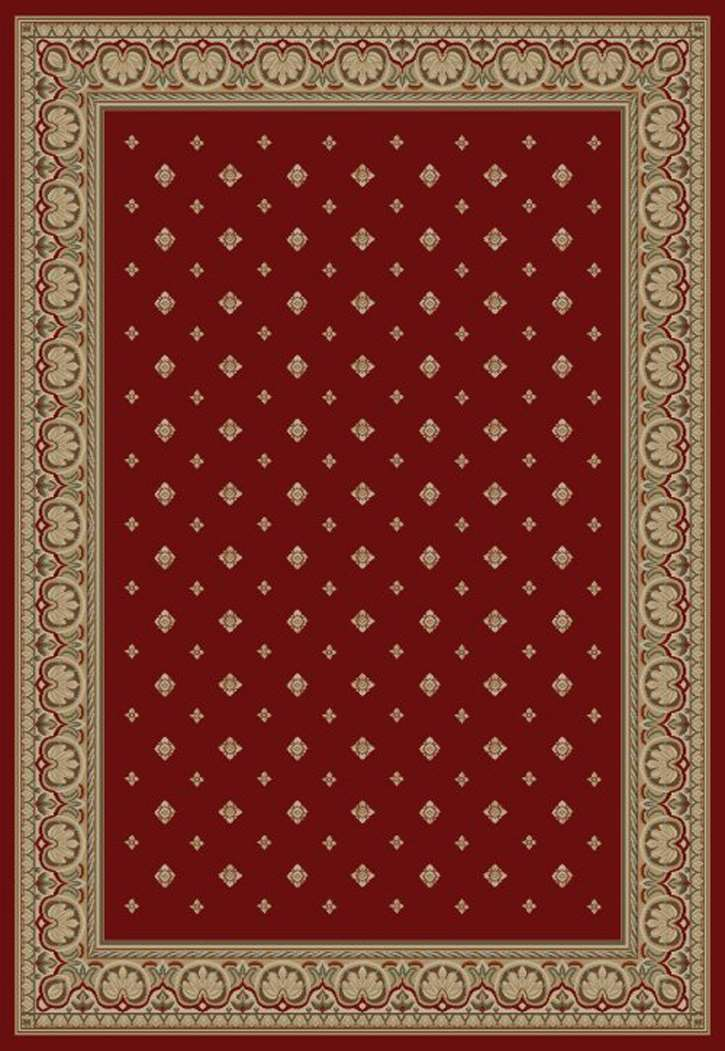 Ankara Classic 6300 Red Area Rug by Concord Global Trading