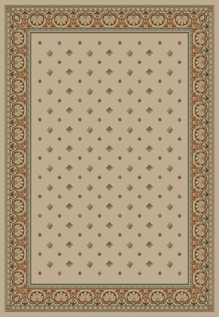 Ankara Classic 6302 Ivory Area Rug by Concord Global Trading