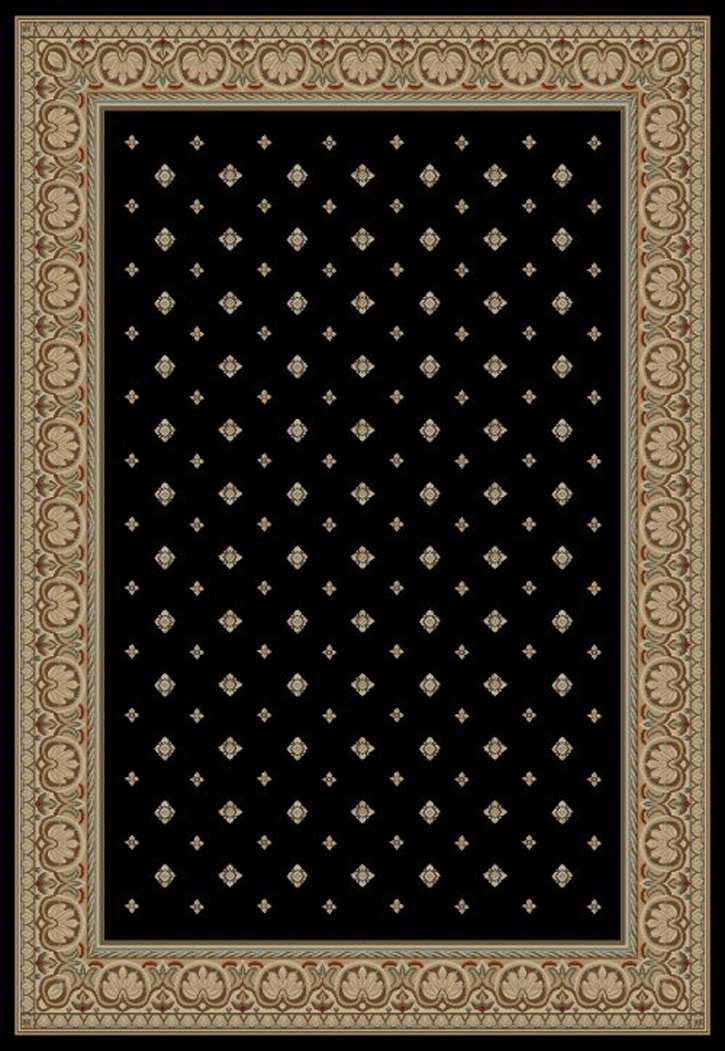 Ankara Classic 6303 Black Area Rug by Concord Global Trading