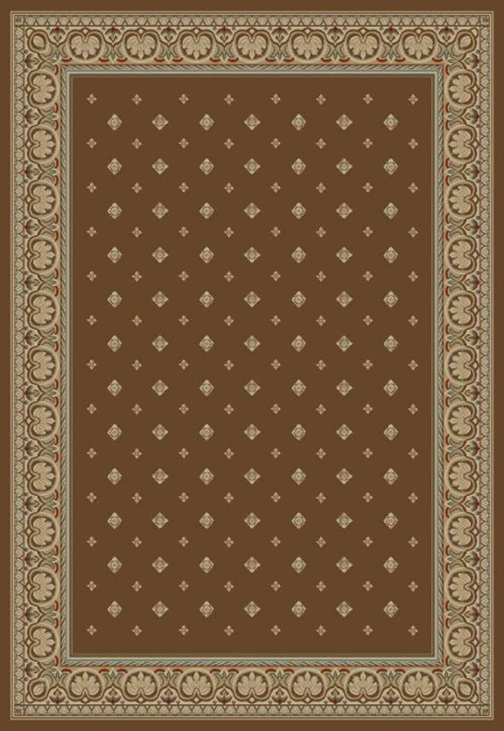 Ankara Classic 6308 Brown Area Rug by Concord Global Trading