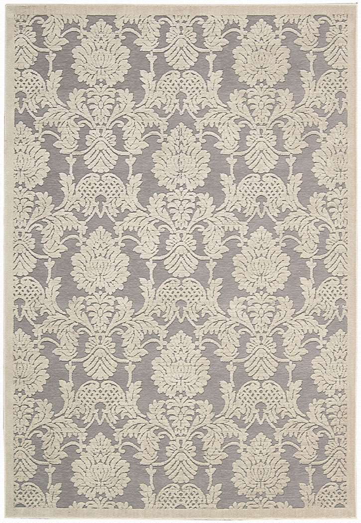 Nourison Graphic Illusions GIL03 Nickel Area Rug