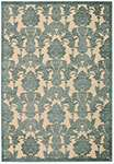 Nourison Graphic Illusions GIL03 Teal Area Rug