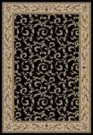 Jewel European 4393 Veronica Black Area Rug by Concord Global Trading
