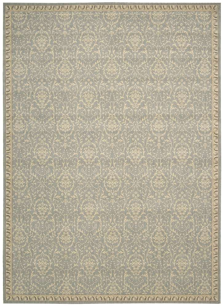 Riviera  RI02 Blue Area Rug by Nourison