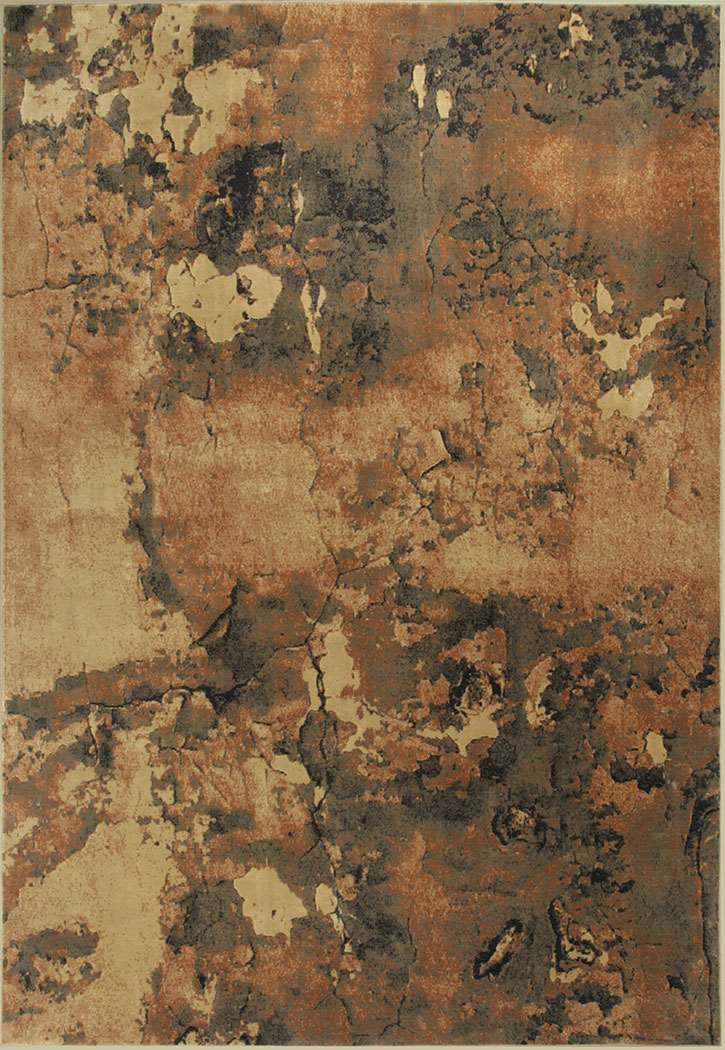 Versailles 8560 Mocha Palette Area Rug by KAS