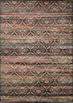 Couristan Zahara 0466-0280 All Over Diamond Red/Multi Area Rug