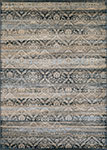 Couristan Zahara 0466-0440 All Over Diamond Black/Multi Area Rug