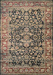 Couristan Zahara 1143-0330 Embellished Blossom Black/Multi Area Rug