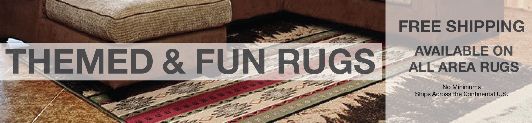 Themed Area Rugs