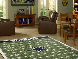 Sports and Team Area Rugs
