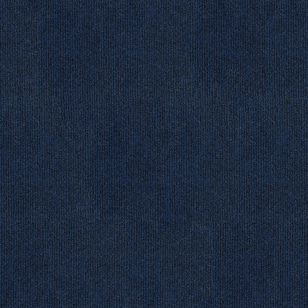 Rib Ocean Blue Peel And Stick Carpet Tiles Carpetmart Com