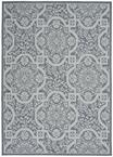 Nourison Aruba ARB02 Slate/Light Blue Area Rug