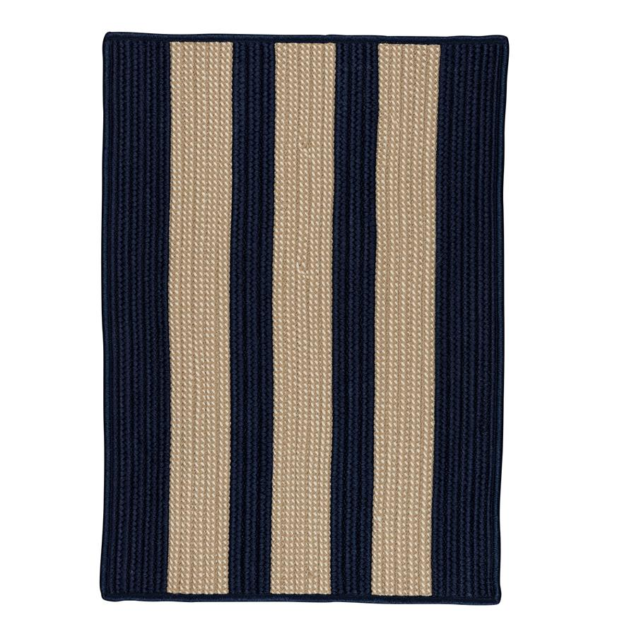 Colonial Mills Boat House BT59 Navy Area Rug