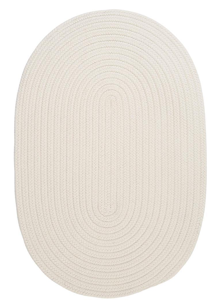 Colonial Mills Boca Raton BR10 White Area Rug