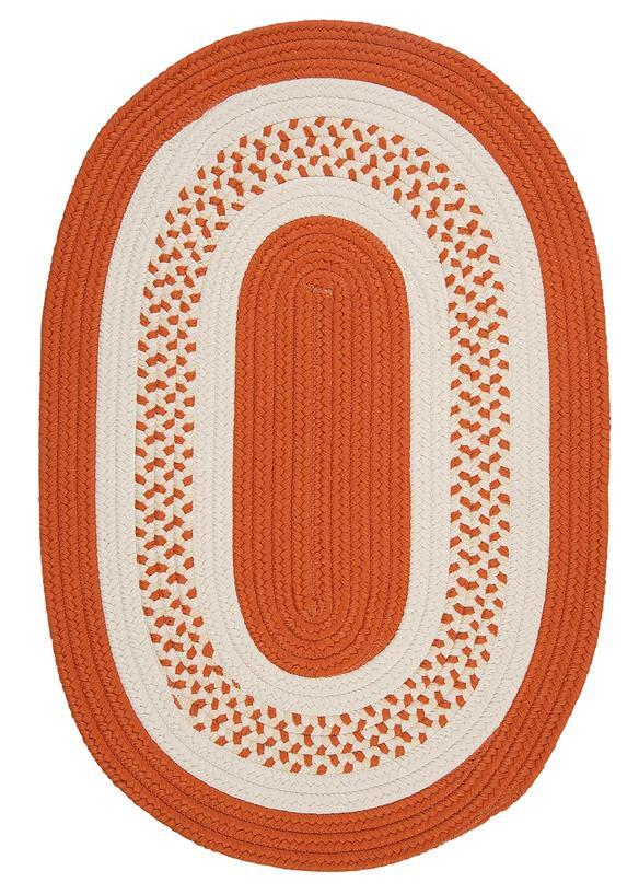 Colonial Mills Crescent NT21 Orange Area Rug