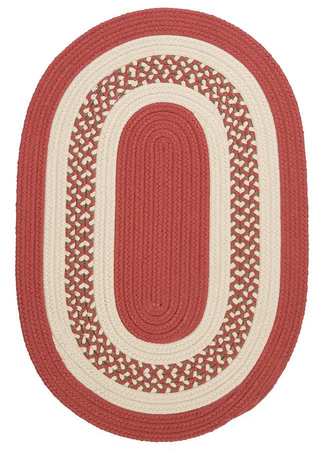 Colonial Mills Crescent NT71 Terracotta Area Rug