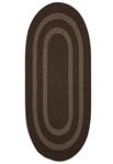 Colonial Mills Graywood GW03 Brown Area Rug